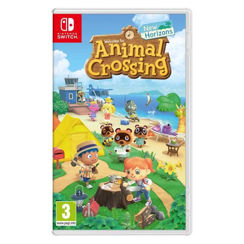 Jeu Vidéo Animal Crossing New Horizons (photo)