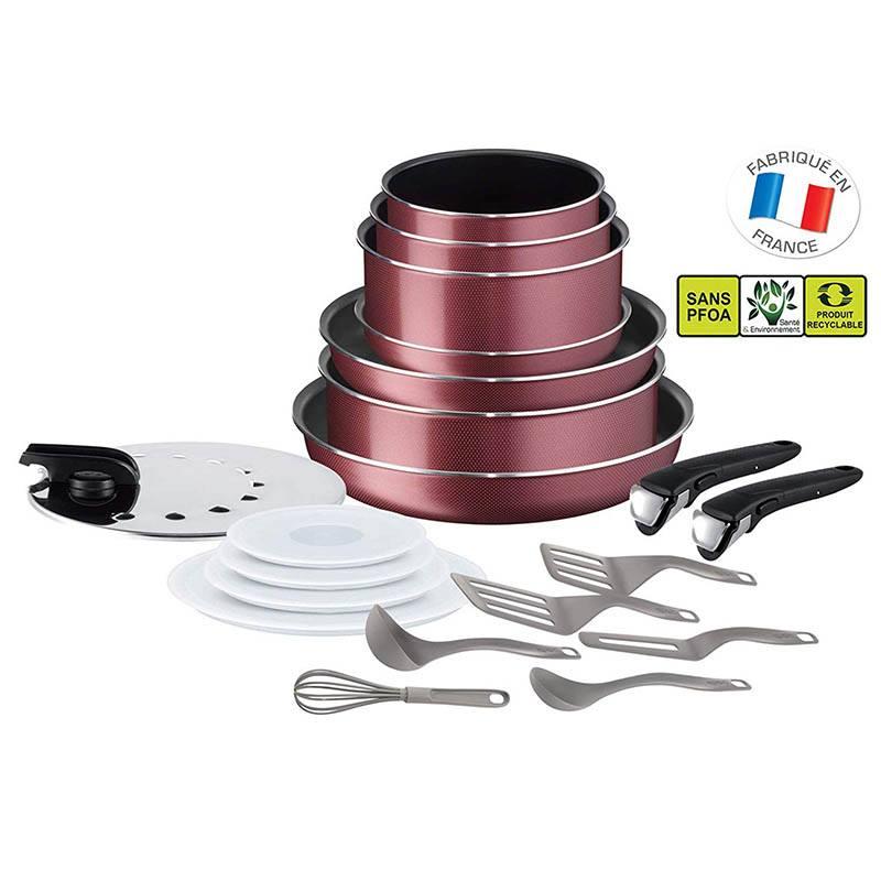 Batterie de cuisine TEFAL ingenio 20 pieces (photo)