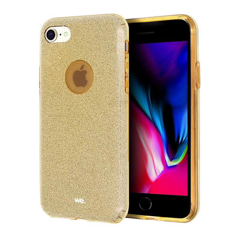 Coque We Iphone 6 Paillettes Or (photo)