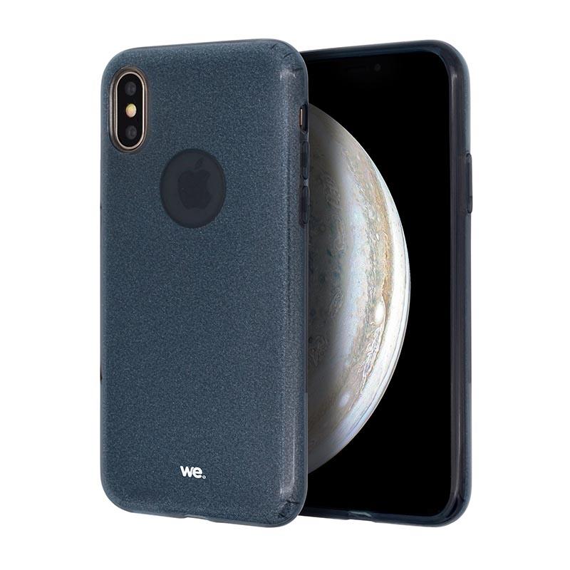 Coque We Iphone Xr Paillette Noir (photo)