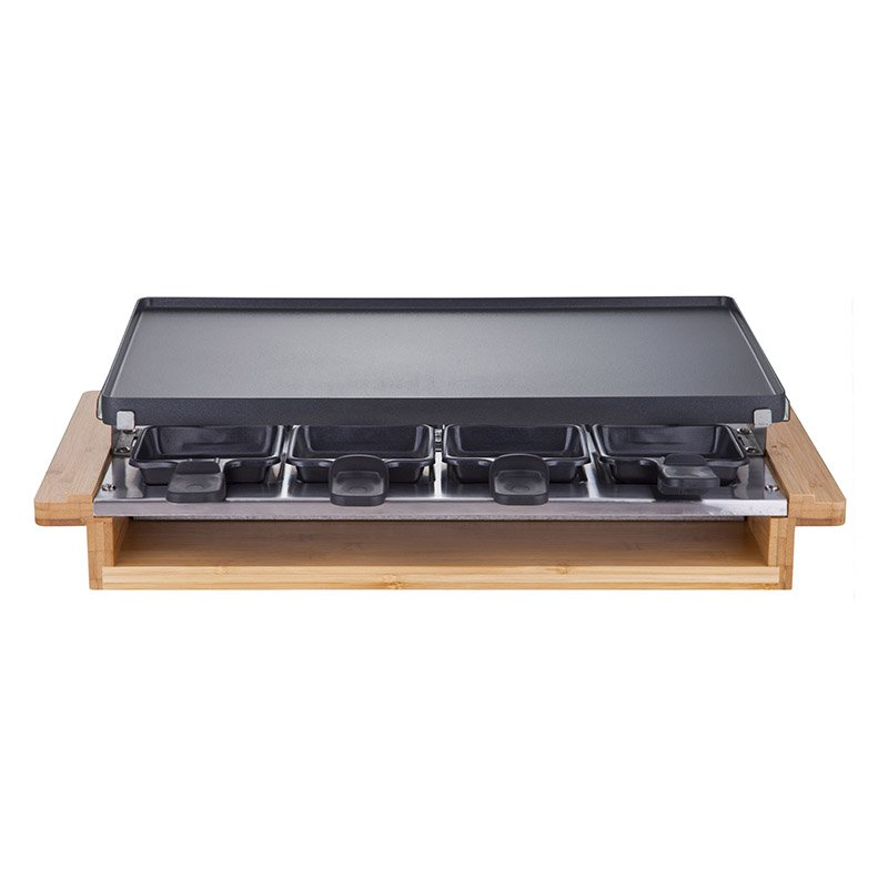 Raclette Multifonctions Thomson 8 Personnes Bambou