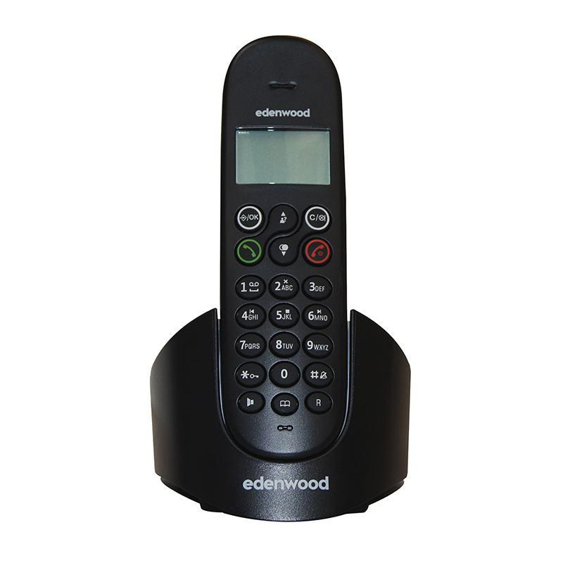 Téléphone Duo Répondeur Edenwood Trd 1 Noir