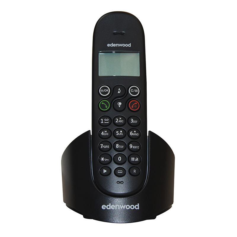 Téléphone Solo Répondeur Edenwood Tsr 1 Noir