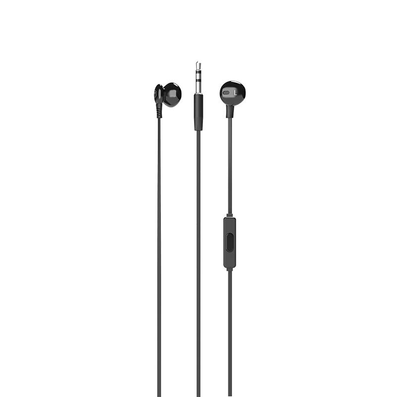 Ecouteurs RYGHT AIRO Wired earphones noir (photo)