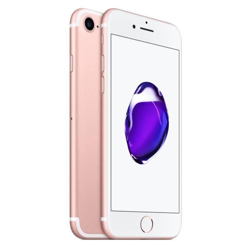 APPLE IPHONE 7 128 GO PINK GOLD RECONDITIONNÉ GRADE EC0 + COQUE (photo)