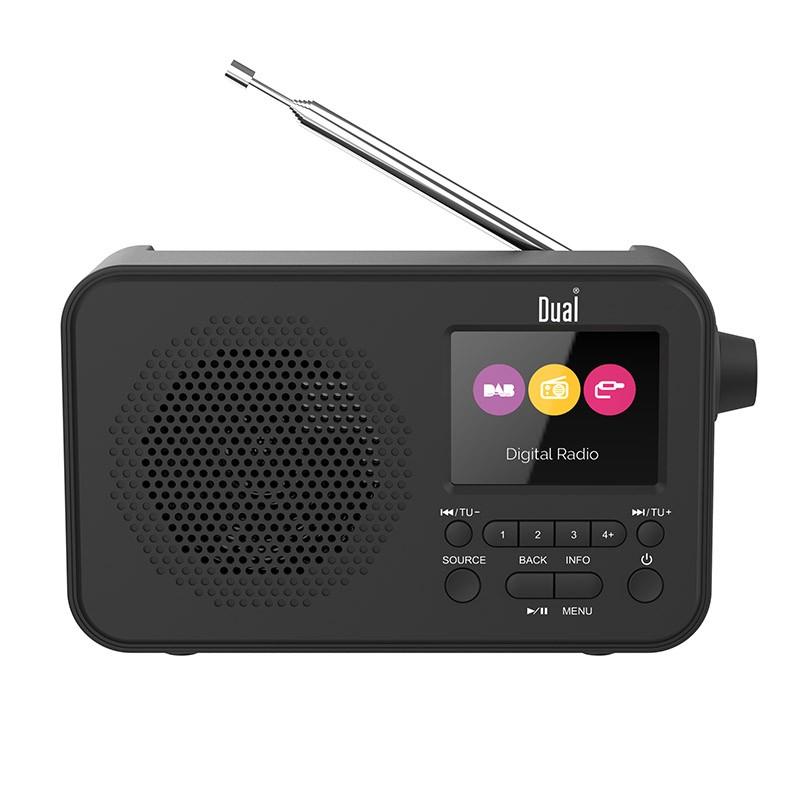 Radio Dual Dl Dab205 Noir (photo)