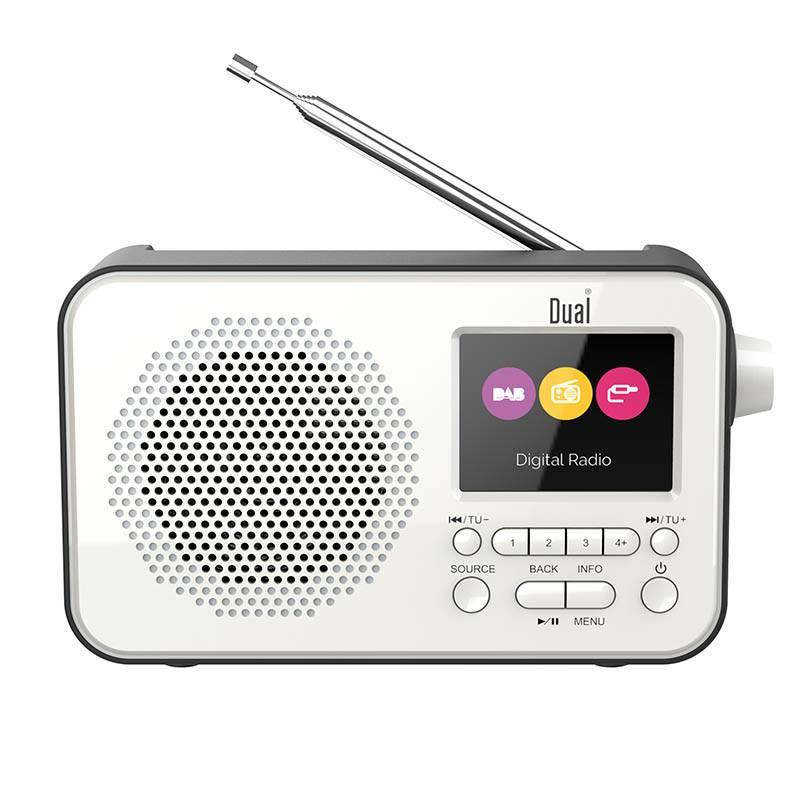 Radio Dual Dl Dab205 Blanc (photo)