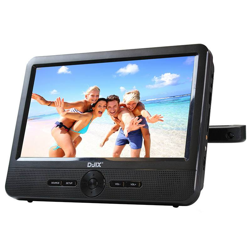 Dvd Portable D-jix Pvs 906-70 Single Player (photo)