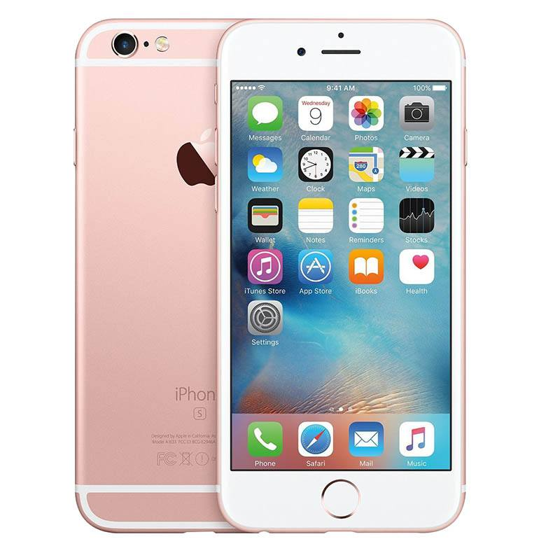 Apple Iphone 6s 64 Go Pink Gold Reconditionné Grade Eco (photo)