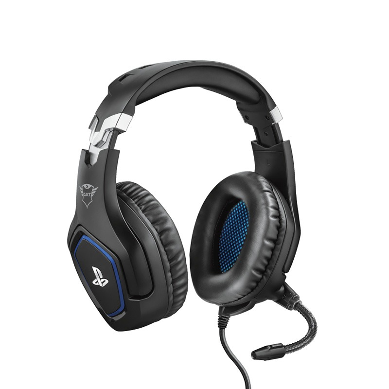 Casque micro gaming PS4 TRUST FORZE  noir (photo)