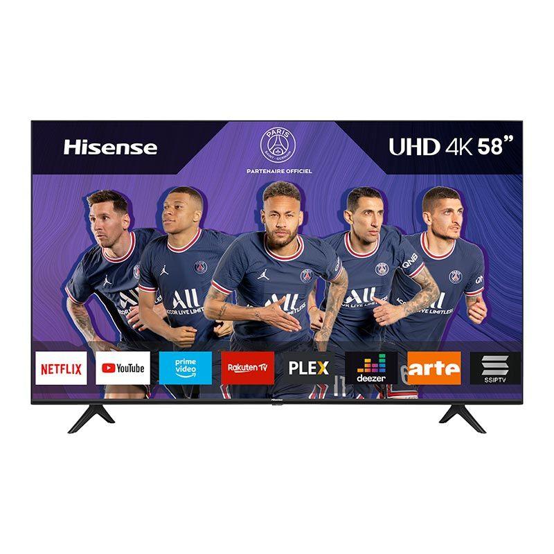 TV UHD 4K HISENSE 58A7100F Smart Wifi (photo)