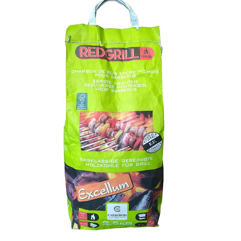Sac charbon RED GRILL 2.5 KG (photo)