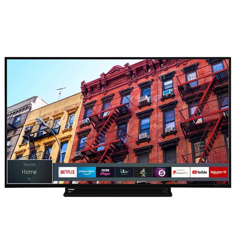 TV UHD 4K TOSHIBA 55VL3A63DG Smart Wifi (photo)