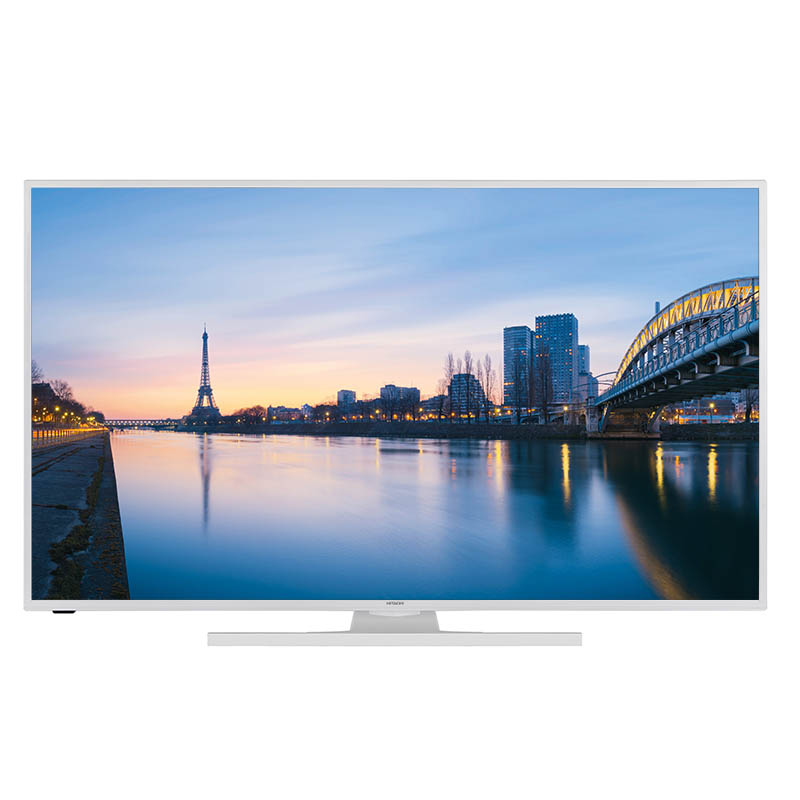 TV 4K HITACHI 43HK6100W Smart Blanche (photo)