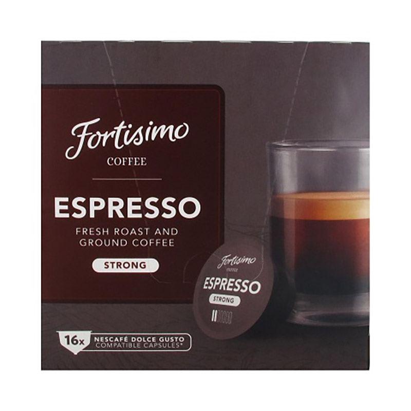 Dosette Fortissimo Espresso X16 Compatible Dolce Gusto