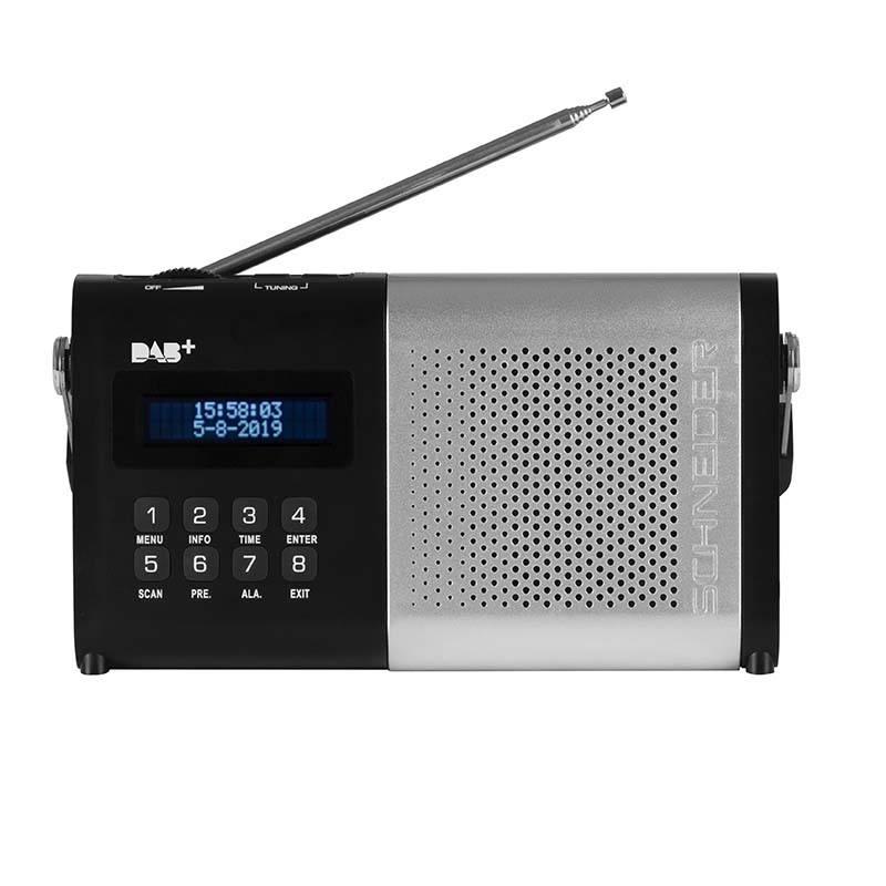 Radio Schneider Sc180aclsilver (photo)