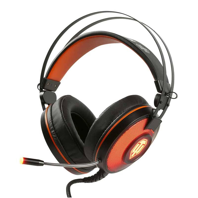 Casque gaming 7.1 KONIX GH 40 edition World of Tanks (photo)