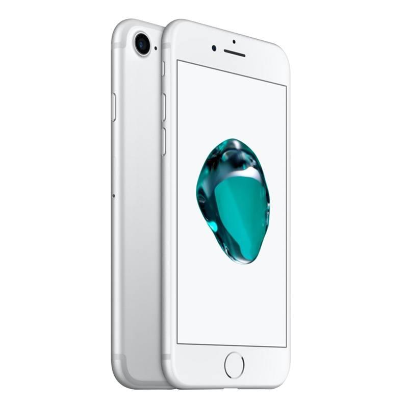 APPLE iPhone 7 32 Go SILVER reconditionne grade ECO + Coque (photo)