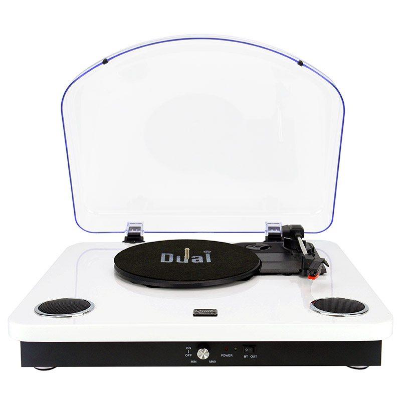 Platine Vinyle Dual Dlp10 Blanc