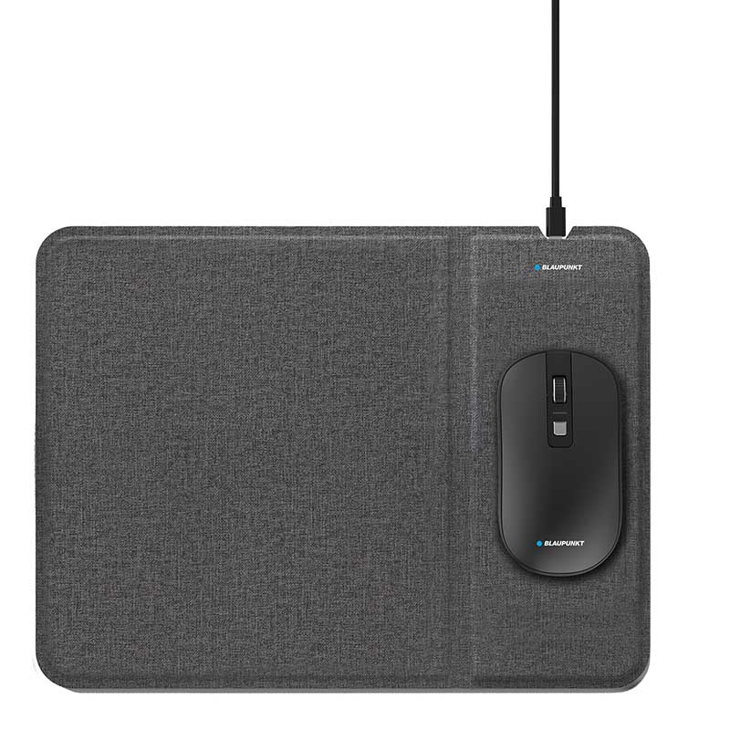 Souris Blaupunkt Souris+tapis Charge Sans Fil