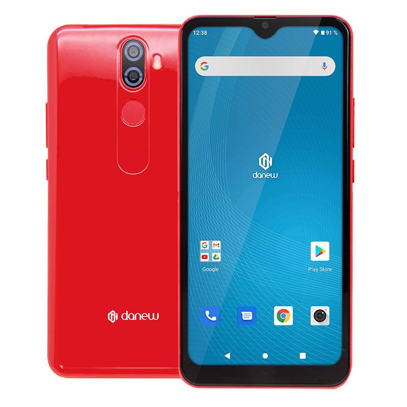 Smartphone Danew Konnect 608 16go Rouge