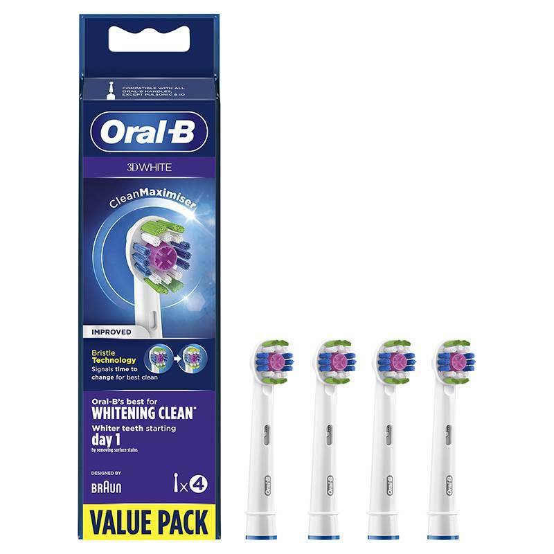 Brossettes Oral-b 3d White X4 Clean Max