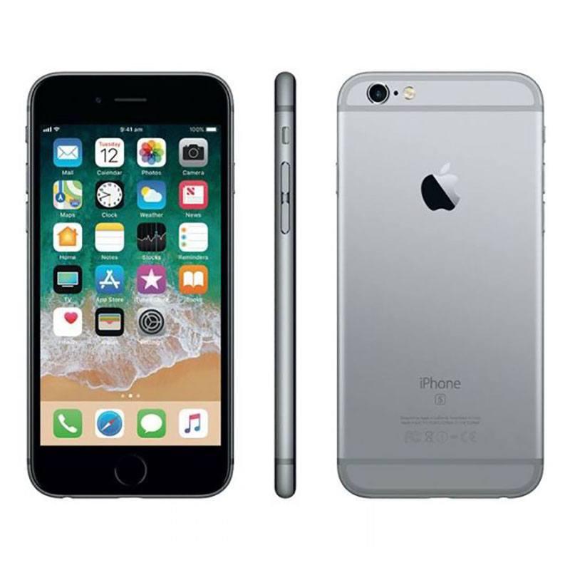 APPLE iPhone 6s 16GO Sideral Grey reconditionne grade ECO + Coque & Verre trempe (photo)