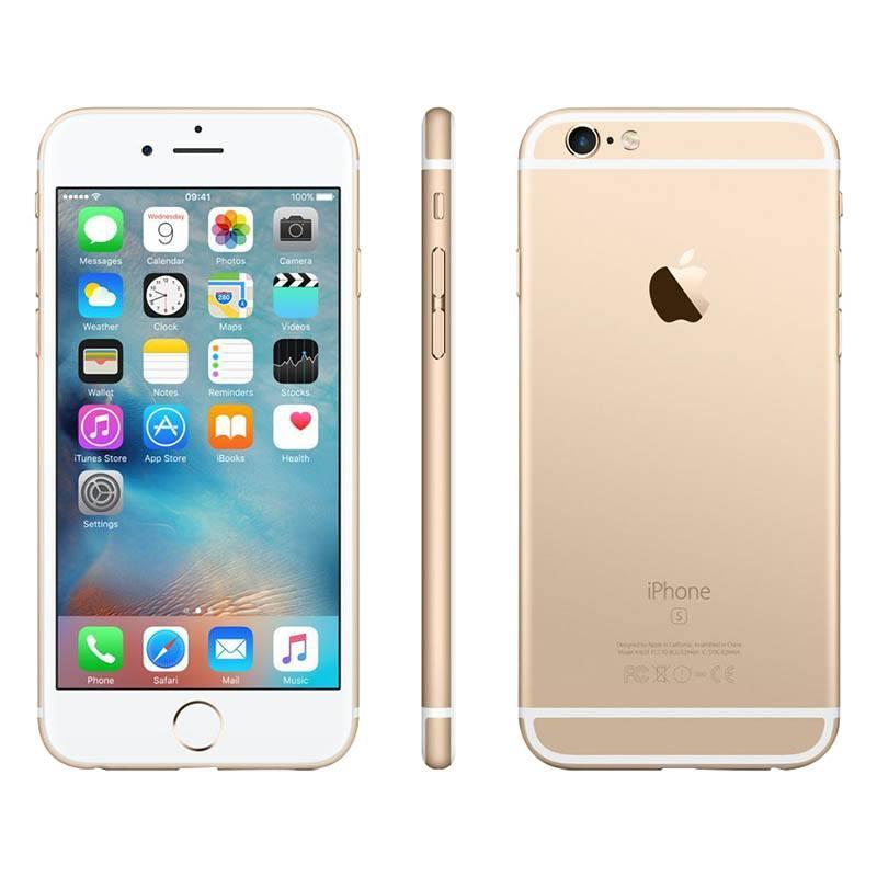 APPLE iPhone 6s 16GO Gold reconditionne grade ECO + Coque & Verre trempe (photo)