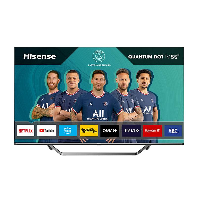 TV QLED HISENSE 55U7QF Smart (photo)
