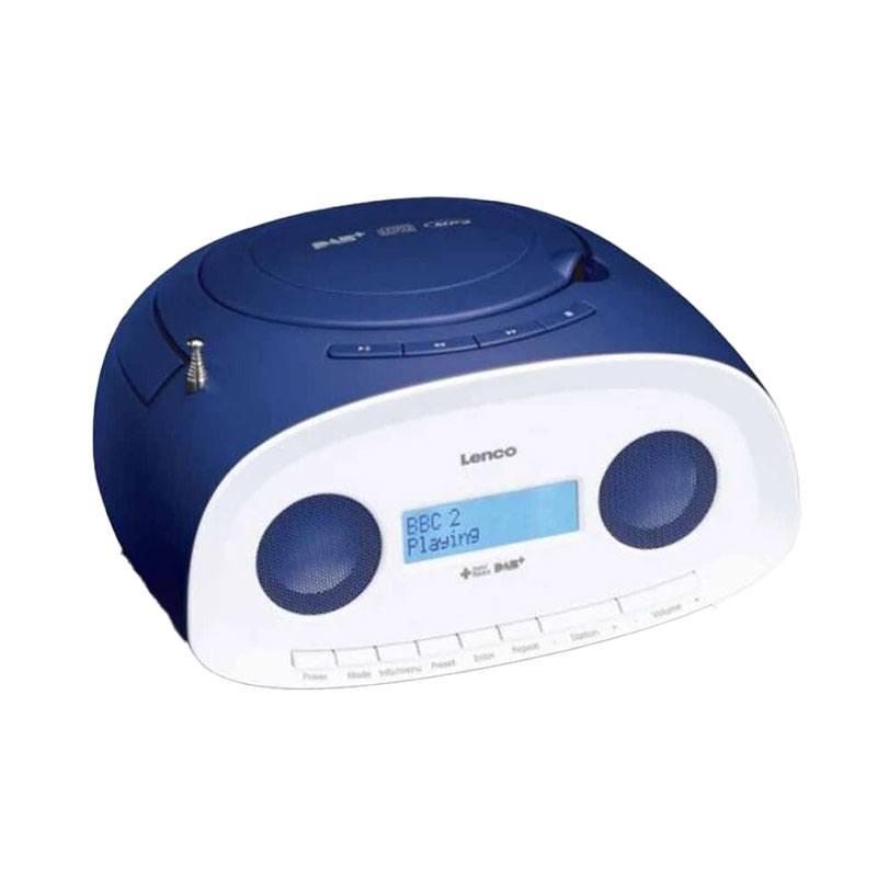 Radio Cd Lenco Scd-69 Dab+ / Fm Avec Cd, Mp3, Usb Bleu (photo)