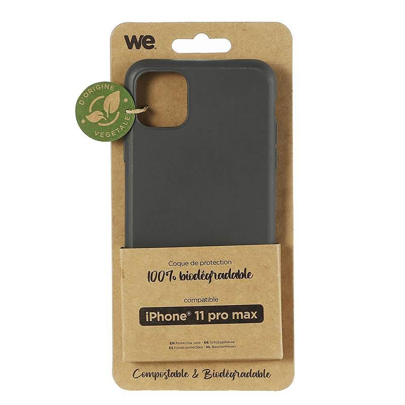 Coque We Iphone 11 Pro Max Noir Biodegradable (photo)