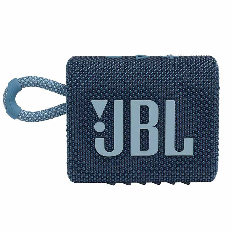 Enceinte Jbl Go 3 Bleu (photo)