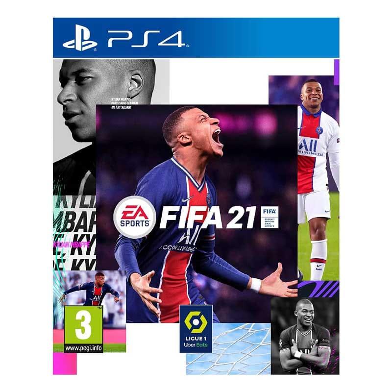 Jeu Vidéo Ps4 Fifa 21 (photo)