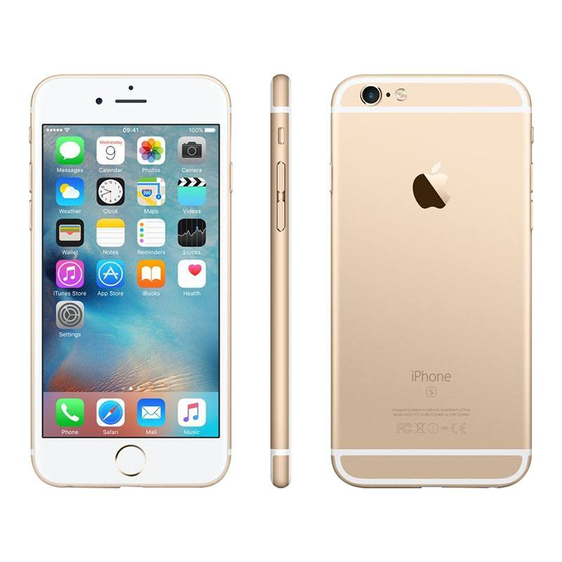 Apple Iphone 6s 32 Go Or Reconditionné Grade Eco + Coque (photo)