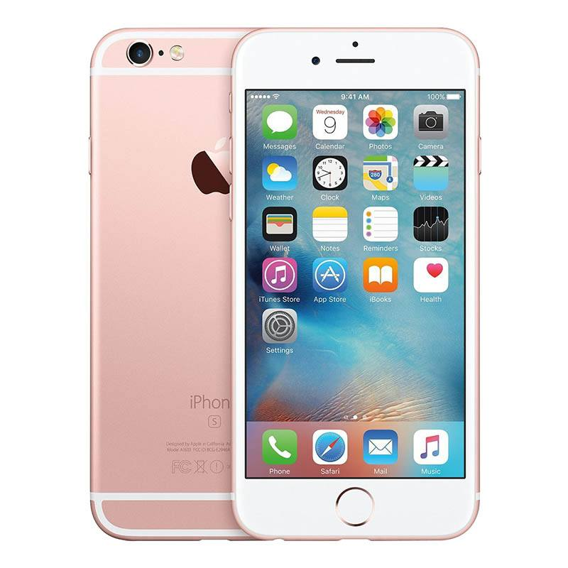 Apple Iphone 6s 32 Go Pink Gold Reconditionné Grade Eco + Coque (photo)
