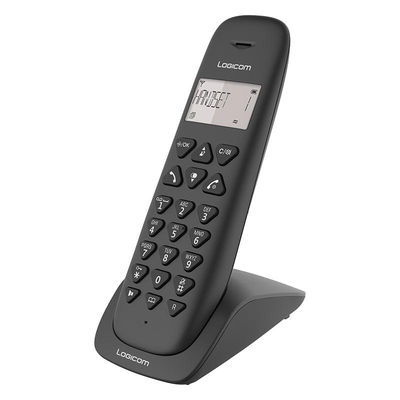 Téléphone Logicom Vega 150 Noir Solo Sans RÉpondeur (photo)