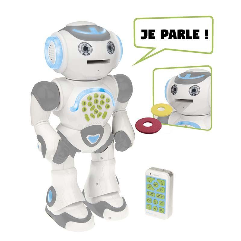 Robot LEXIBOOK POWERMAN LAX  ludo educatif (photo)
