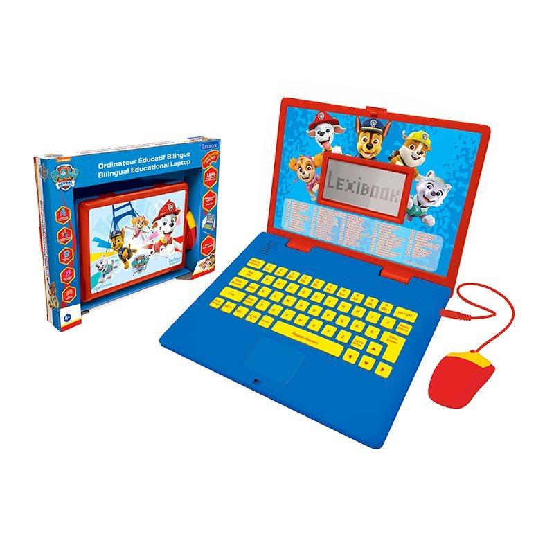 Ordinateur Portable LEXIBOOK educatif Pat'Patrouille (photo)