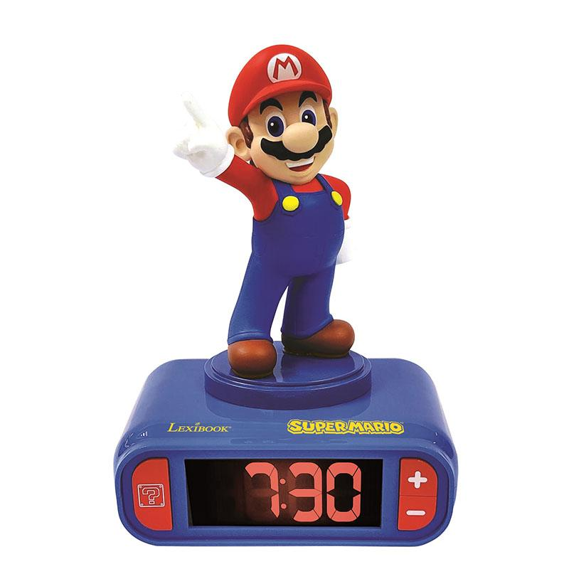 Réveil Lexibook Super Mario