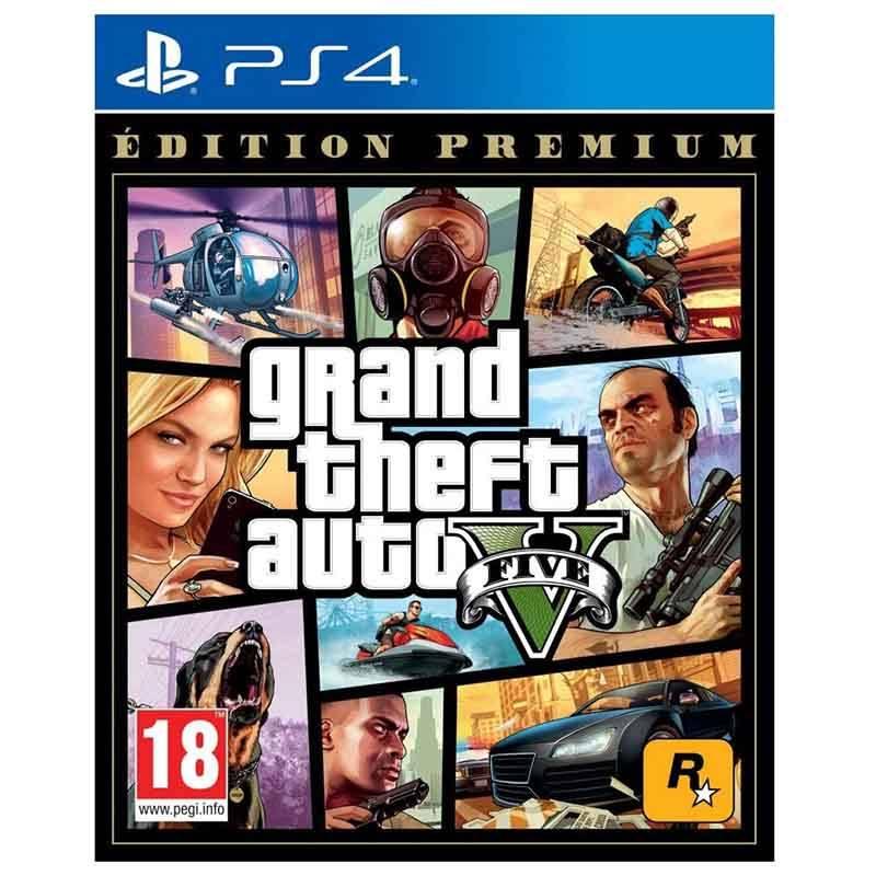 Jeu video TAKE 2 GTA V PREMIUM pour PS4 (photo)
