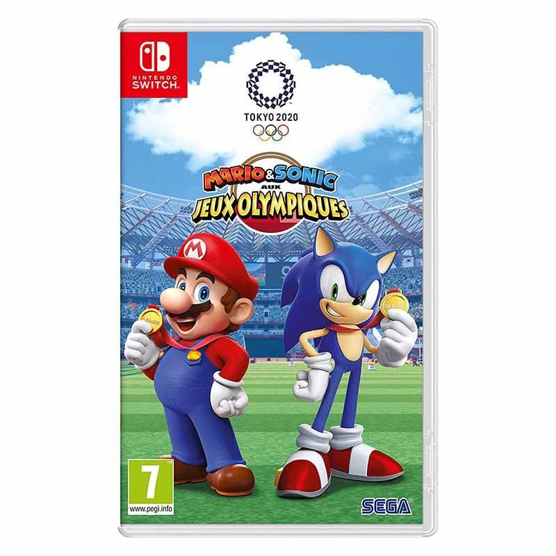 Jeu Vidéo Nintendo Switch Mario&sonic Aux Jo 2020 (photo)