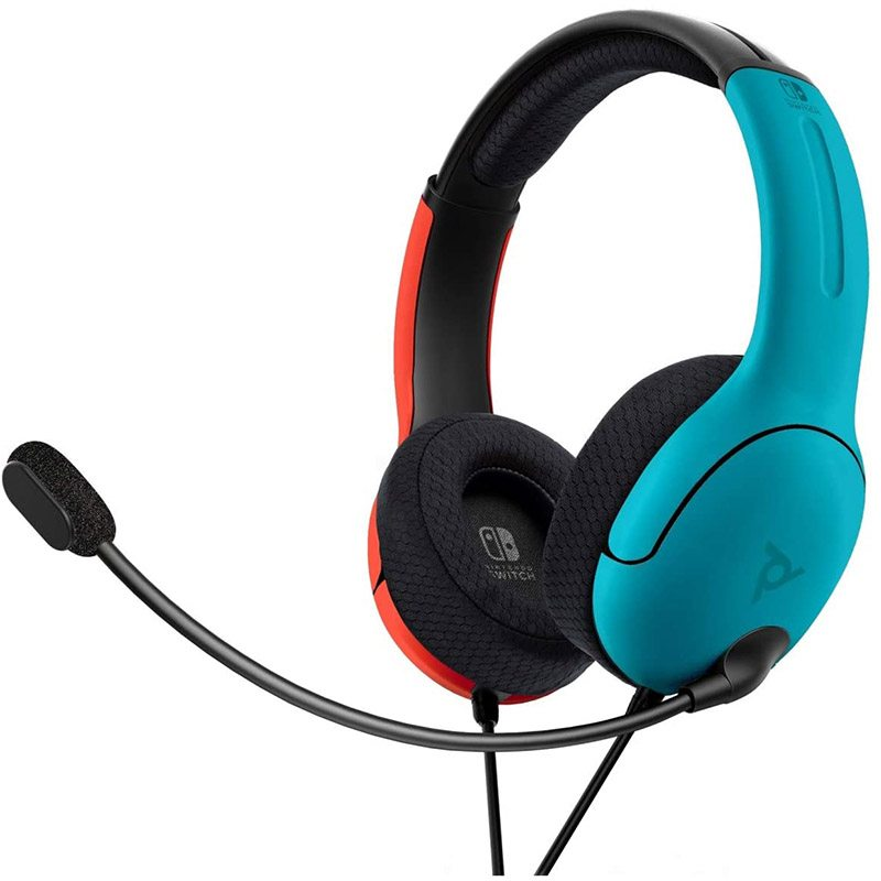 Casque Micro Pdp Lvl40 Switch Bleu/rouge