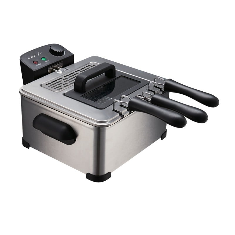 Friteuse Cosylife Cl-fr4.5 Inox 4.5l