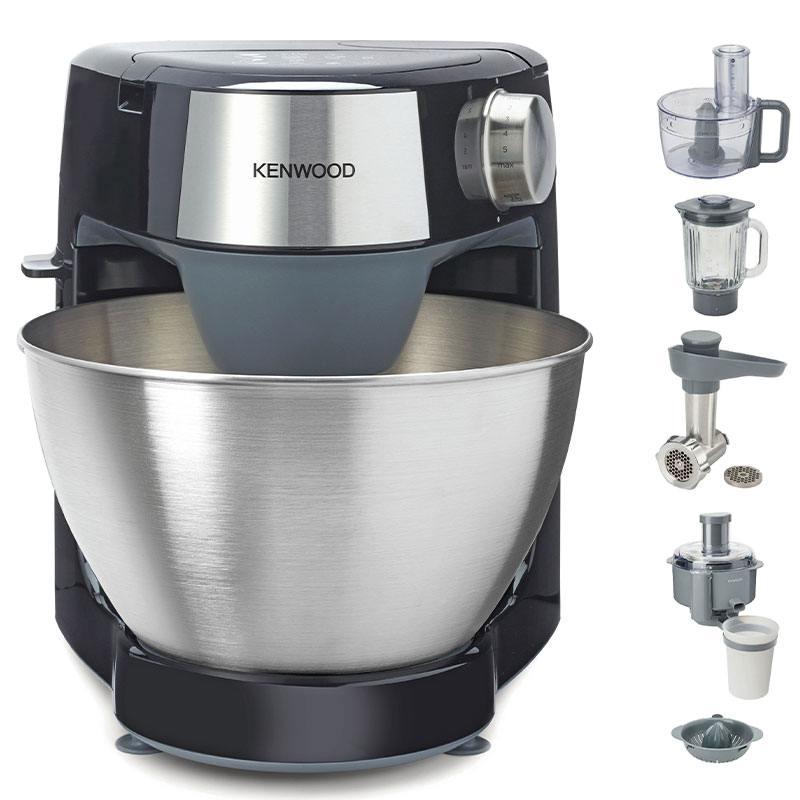 Robot Pâtissier Kenwood Multi-accessoires Khc29.p0bk (photo)