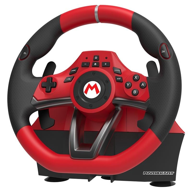 Volant Hori Mario Kart + Pedalier Pour Switch