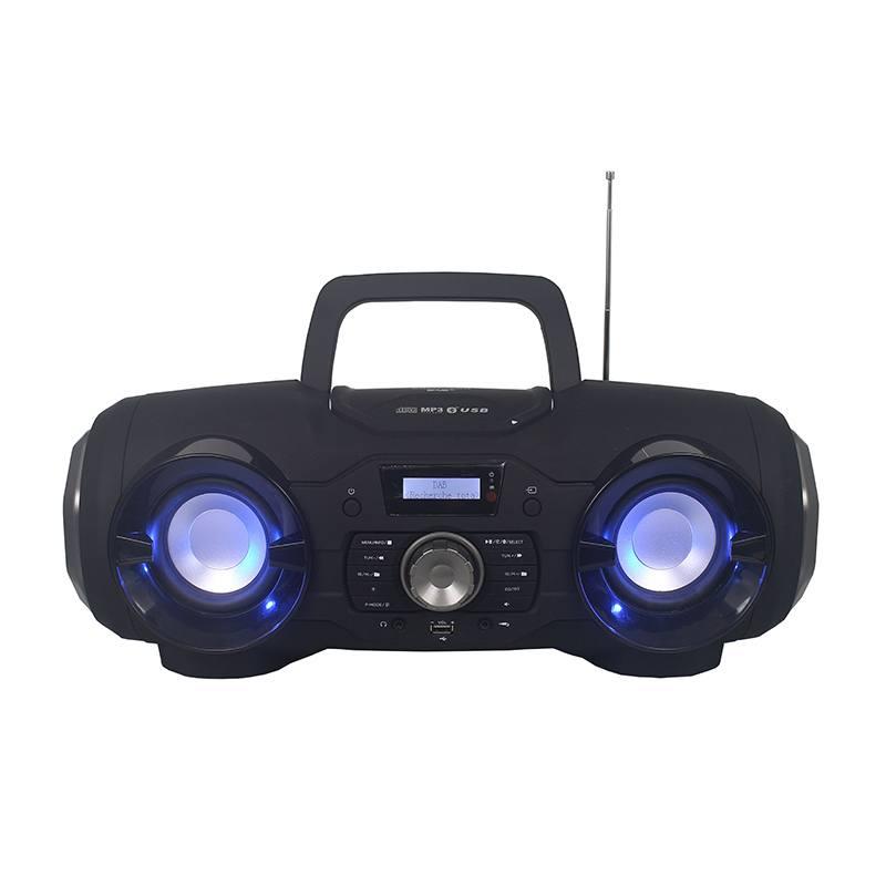Radio Cd Edenwood Boombox Bt Light Dab