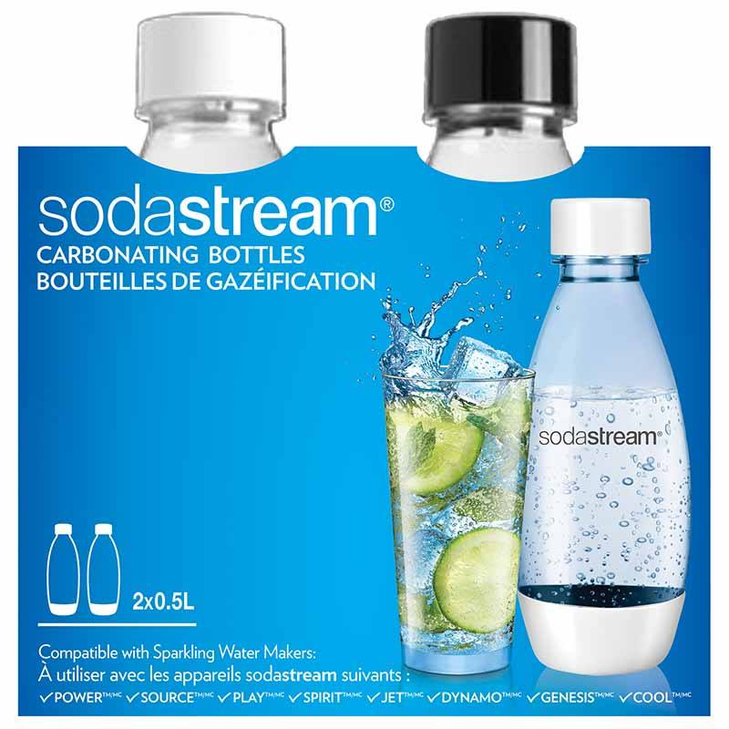 Bouteille Soda Sodastream 0,5l X2 (photo)
