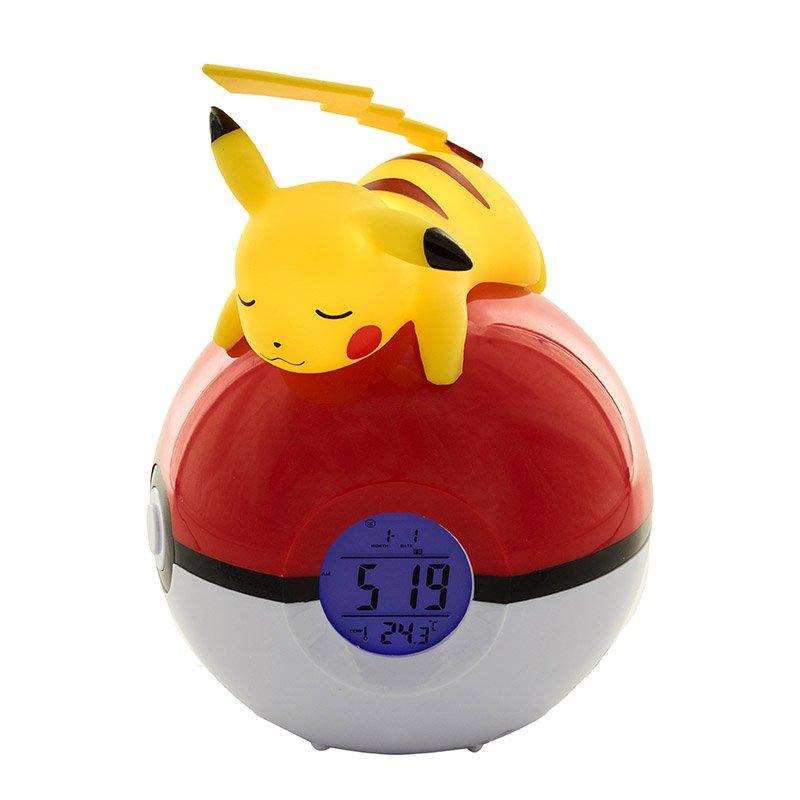 Radio-réveil Pokemon Pikachu