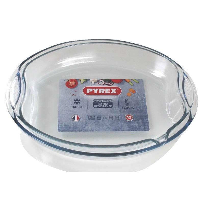Lot De 2 Plats Pyrex 4.3 L & 4 L