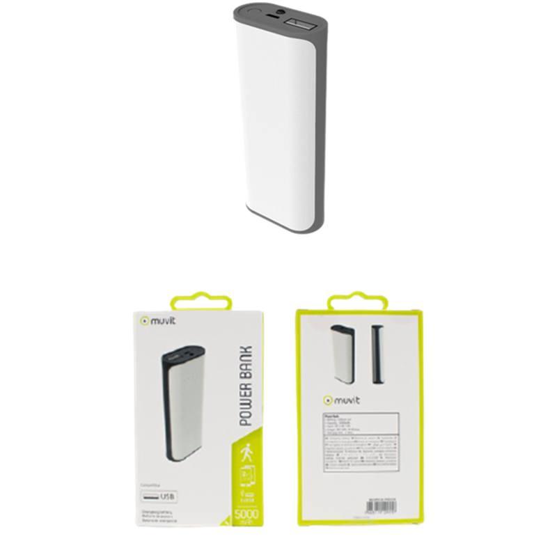 Batterie Externe Muvit 5000 Mah Blanc